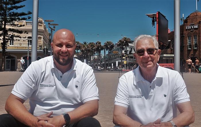 Martin and Paul Poshoglian