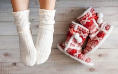 THE COOLEST TIPS FOR HEALTHY FEET THIS WINTER